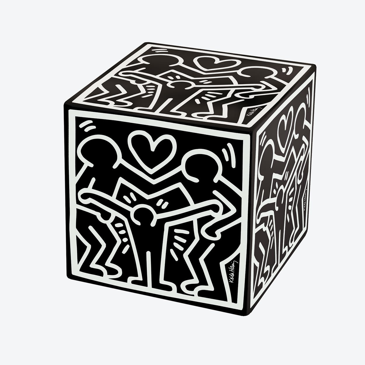 Cubolibre Happy Family Black Stool