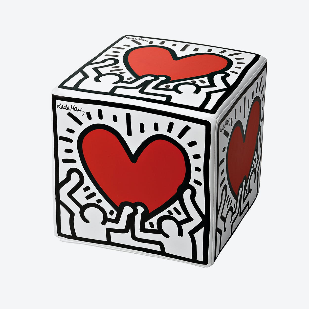 Cubolibre Men With Heart Stool