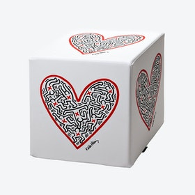 Cubolibre Single Heart Stool