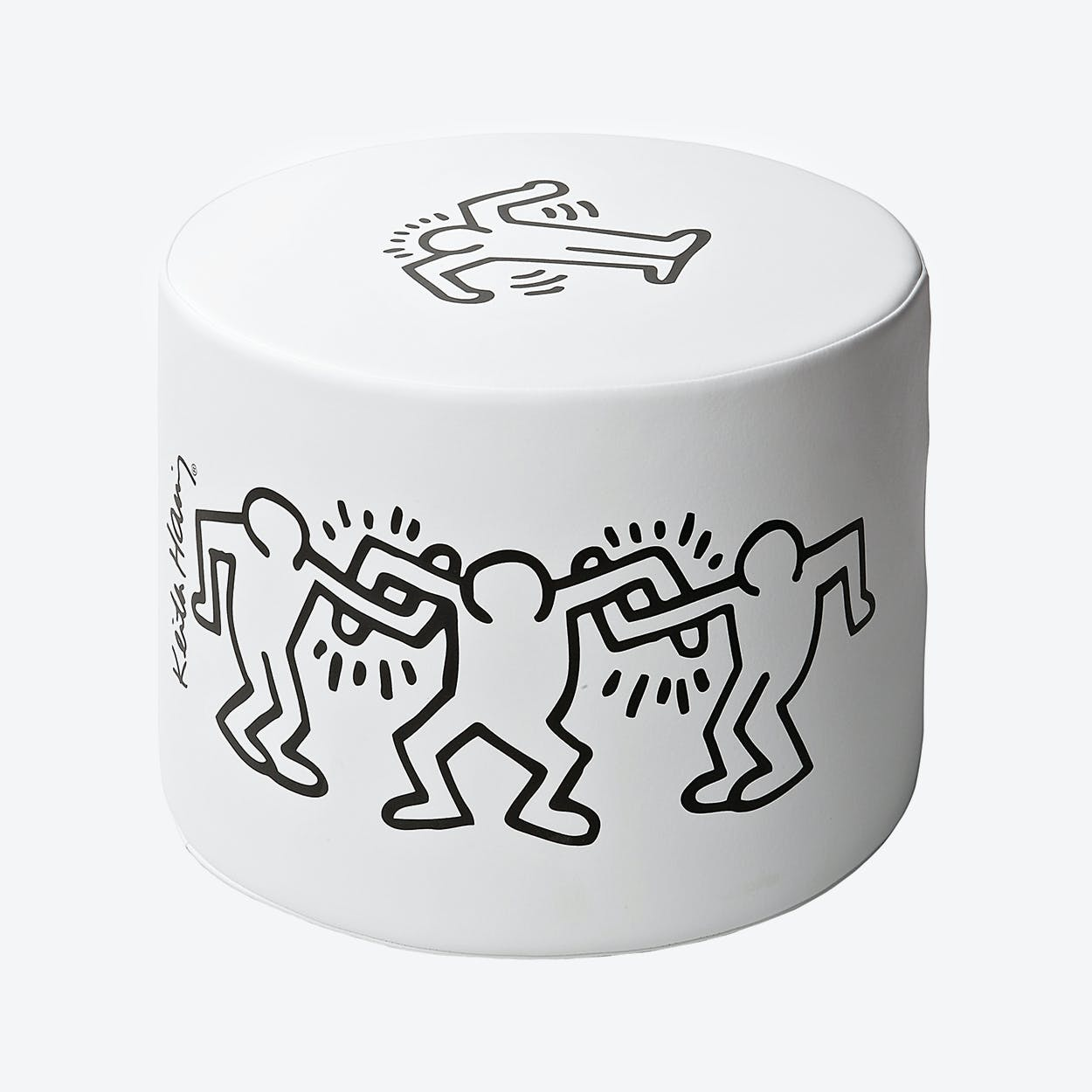 Mini I Pop Dancers White Stool