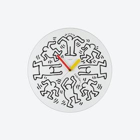 Circle Big White Clock Large