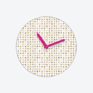 Karim Clock White Clock Large
