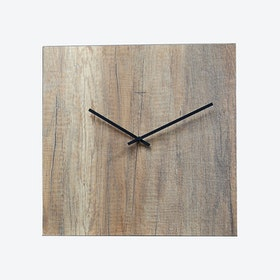 Wood Materia Clock