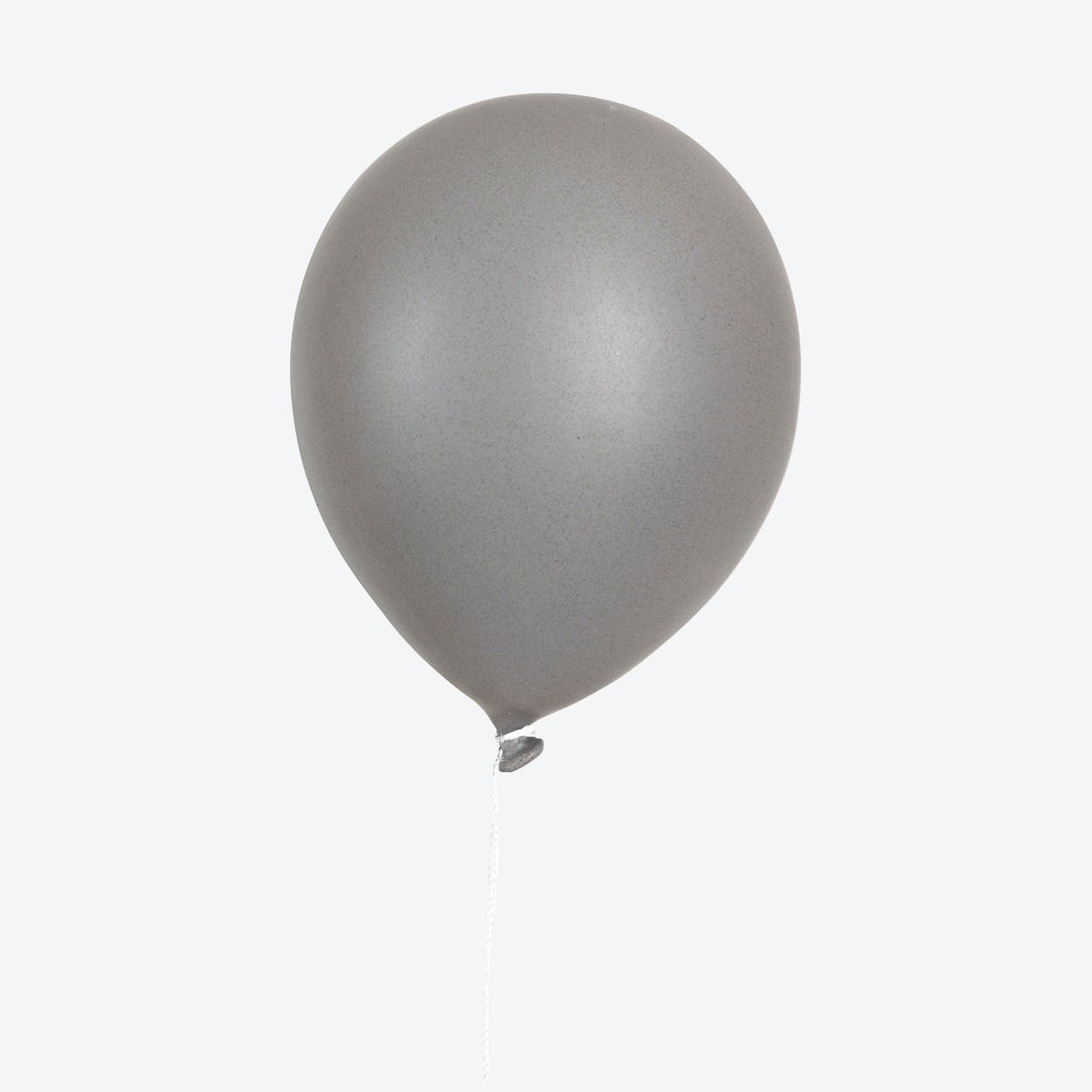 Ceramic Balloon Wall Decor in Grey