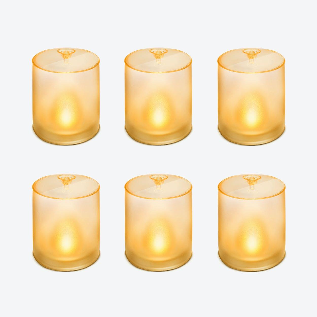 "LUCI ""Candle"" Portable Solar Lamp (6 Units)"
