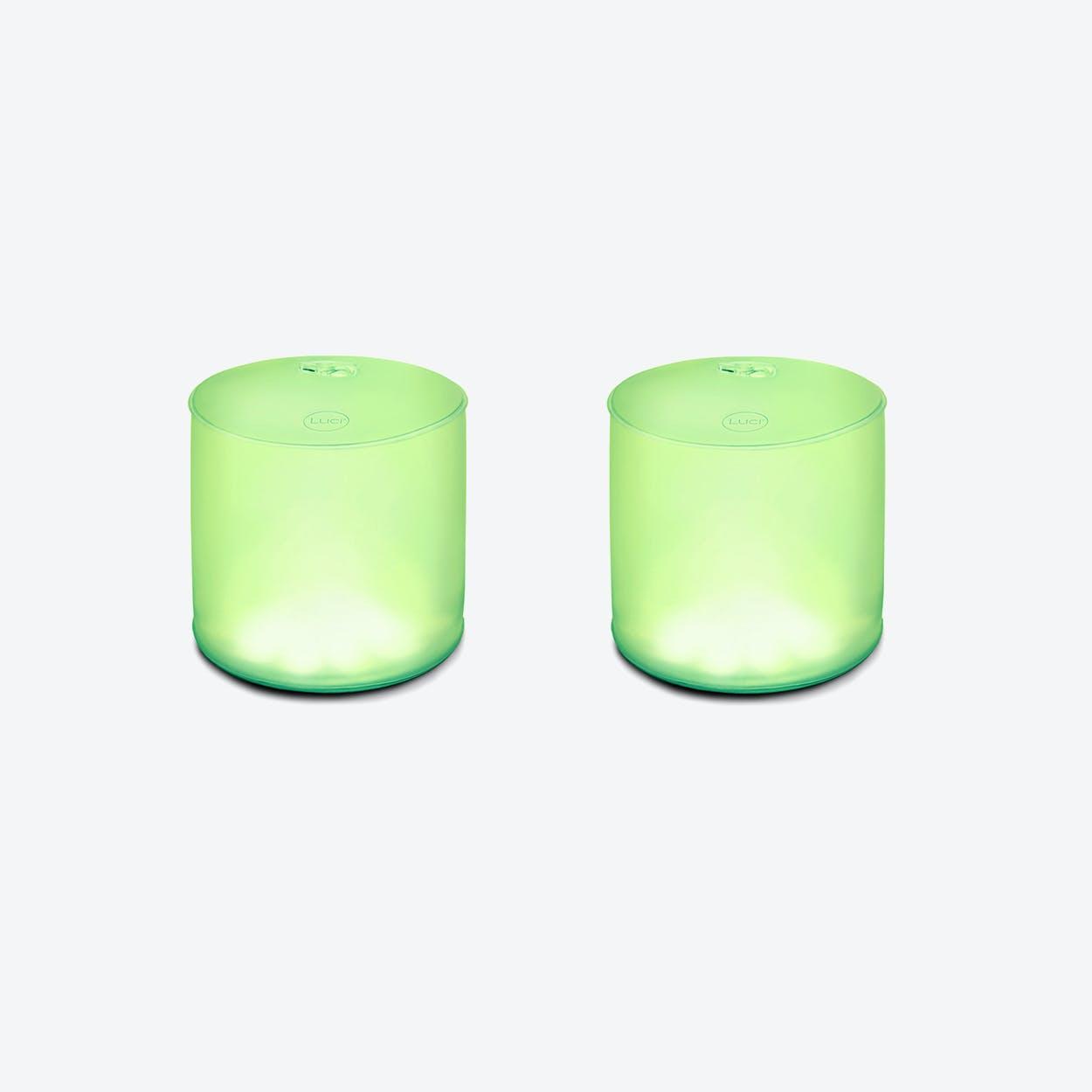 """Luci """"Color Essence"""" Portable Solar Lamp (2 Units)"""