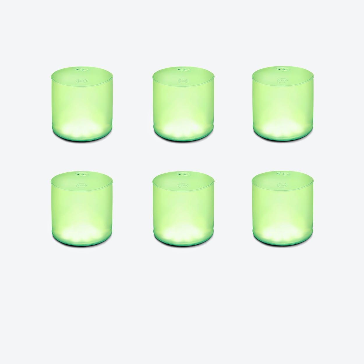 """Luci """"Color Essence"""" Portable Solar Lamp (6 Units)"""