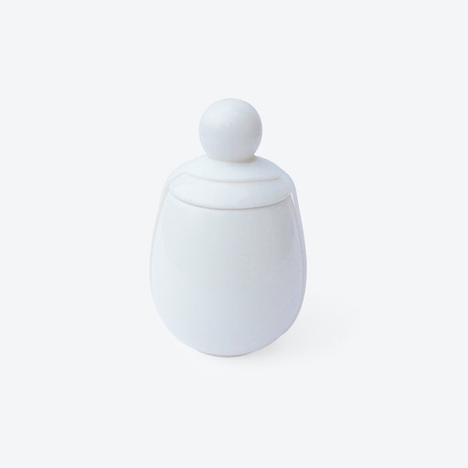 Egg Coddler Malin in White
