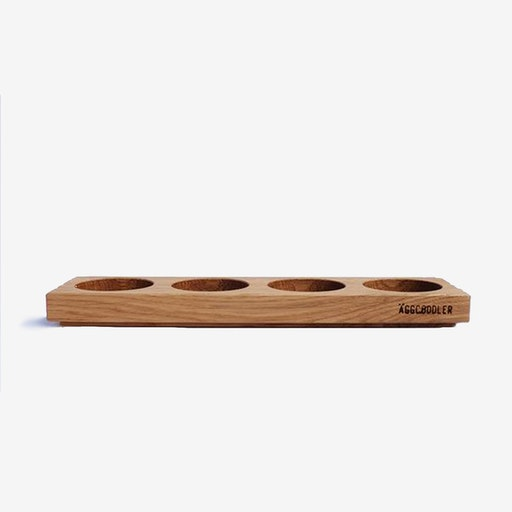 4-Hole Wooden Tray For 4 Small Coddlers