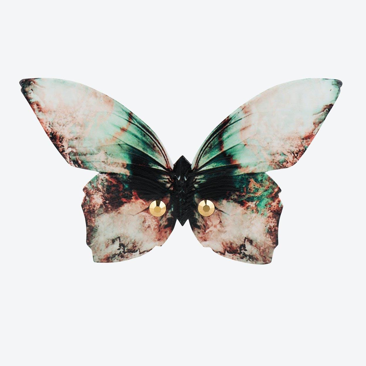 Butterfly Brooch-Tie Prosperity