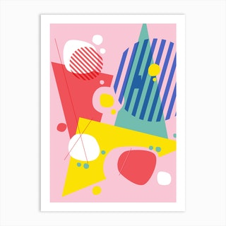 Abstract Pop I Art Print