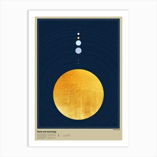 Planet Orbits Art Print