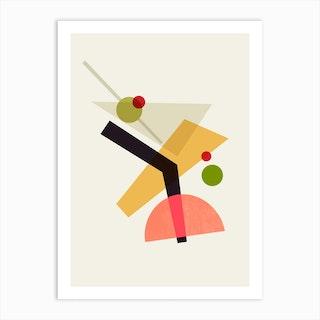 Cocktail Iv Martini Art Print