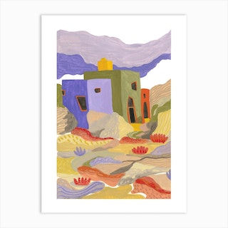 Joshua Tree Architecture Art Print