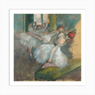 Ballet Dancers, Hilaire-Germain-Edgar Degas Art Print