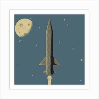 Rocket 2 Art Print