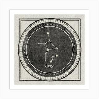 Zodiac Virgo Art Print
