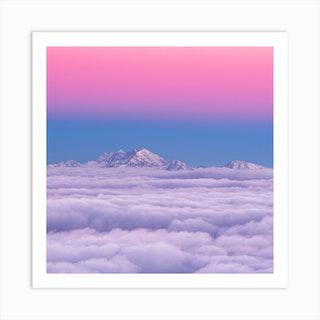 Pink In The Sky Art Print