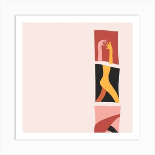 Frame Square Art Print