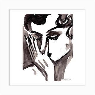 Desole Square Art Print