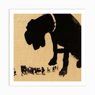 Giant Dog Art Print