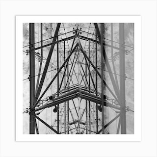 Abstract Architecture Print In London Art Print