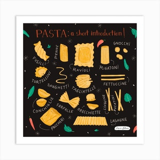 Pasta Introduction Art Print