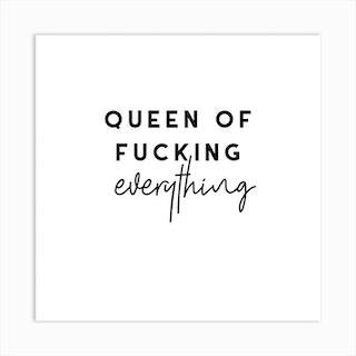 Queen Square Art Print