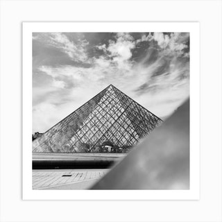 Musee Du Louvre In Paris Art Print