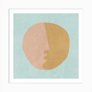 Sunkissed Square Art Print
