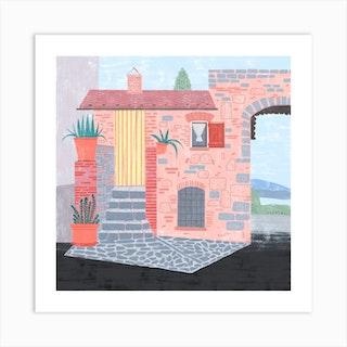 Italian House Art Print