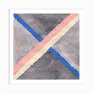 X Marks Art Print