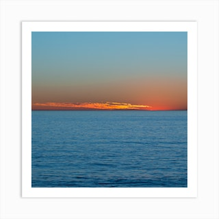 Sparkle On The Water Art Print