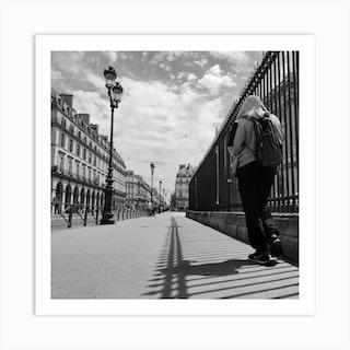 Paris Street Photography Art Print
