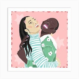 Joy Square Art Print