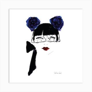 Miss You Square Art Print