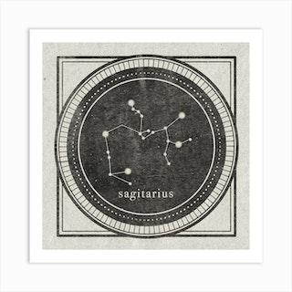 Zodiac Sagitarius Art Print