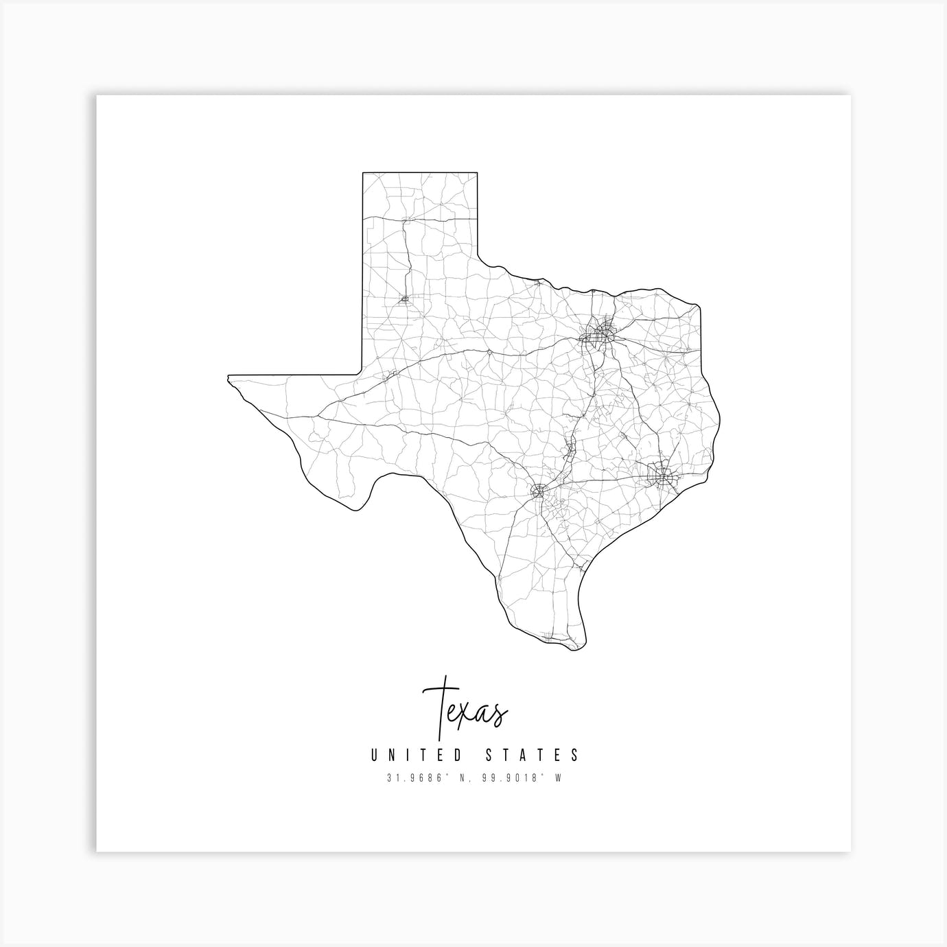 It's just a picture of Printable Maps of Texas intended for north