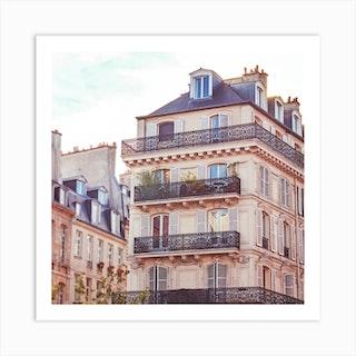 Paris Bliss Square Art Print