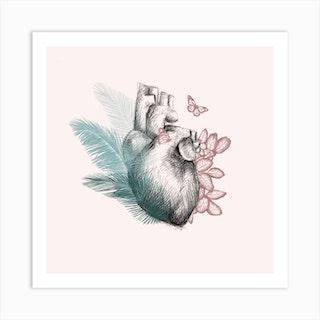 Heart And Life Art Print