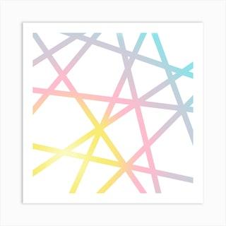 Unicorn X Rainbow Art Print
