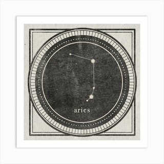Zodiac Aries Art Print