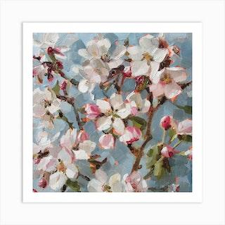 Apple Blossom Ii Art Print