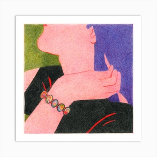 Bracelet Square Art Print