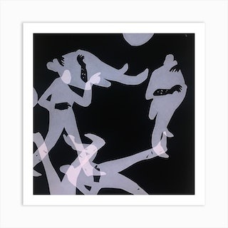 Lonely Together Square Art Print