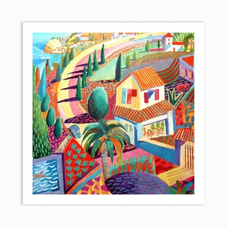 Spanish Coast 3 Art Print