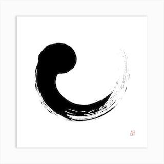 Magadama Solo R Square Art Print