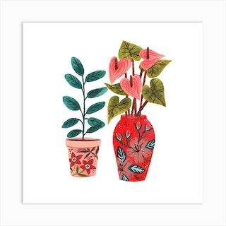 Planter Art Print