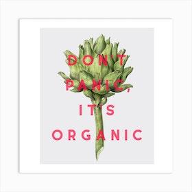 Organic Square Art Print
