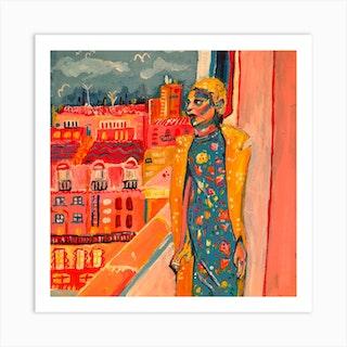 My View Of Paris Art Print